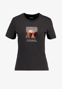 Even&Odd - Print T-shirt - anthracite - 3