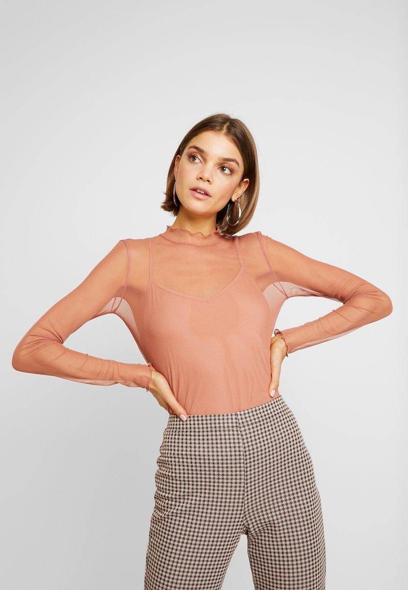 Even&Odd - Långärmad tröja - rose