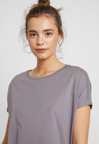 Even&Odd - T-shirt con stampa - anthracite - 4