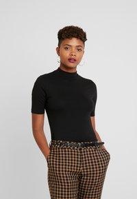 Even&Odd - T-shirt basic - black - 0