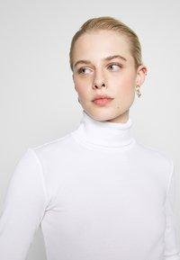 Even&Odd - Topper langermet - white - 4