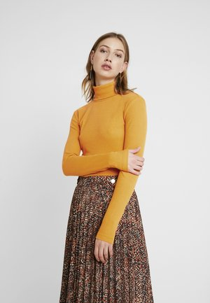 Long sleeved top - dark yellow