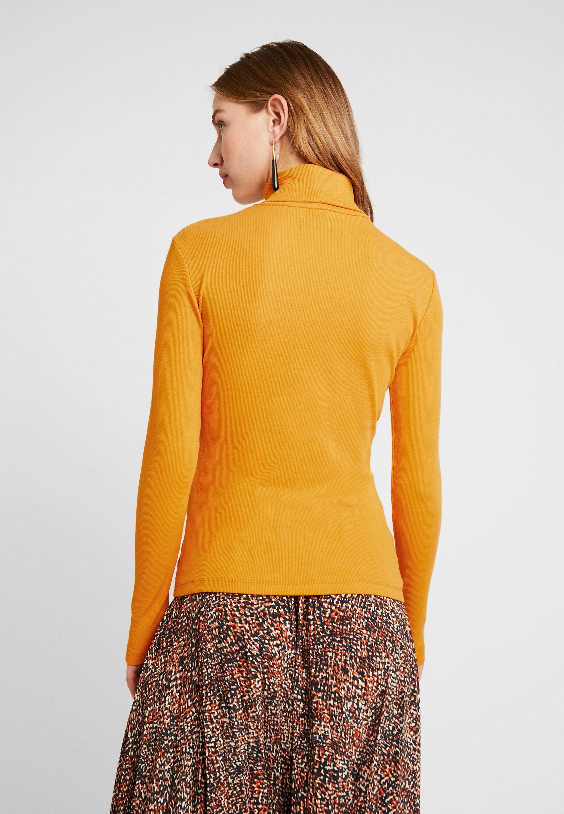 BASICT yellow shirt dark longues manches à Even amp;Odd rWQCeodxB
