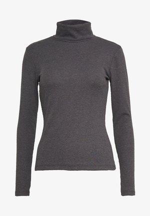 Longsleeve - mottled dark grey