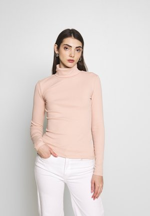 Long sleeved top - rose dust