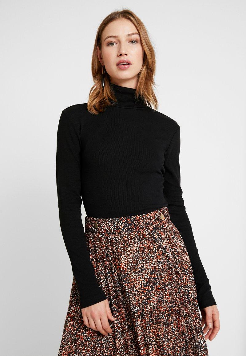 Even&Odd - BASIC - Long sleeved top - black