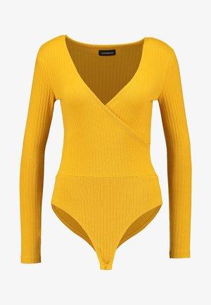 BODYSUIT BASIC - Long sleeved top - mustard