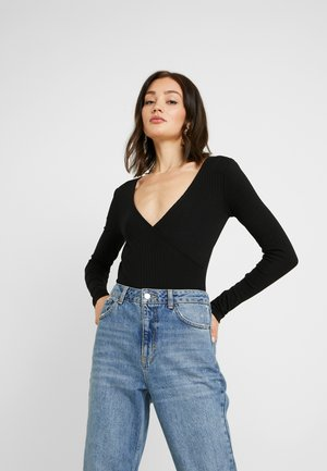 BODYSUIT BASIC - Longsleeve - black