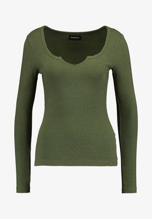 BASIC - Pitkähihainen paita - khaki