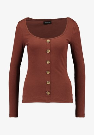 Long sleeved top - fudgesickle