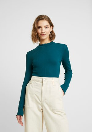 Long sleeved top - deep teal