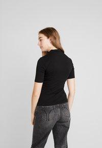 Even&Odd - 2 PACK - T-SHIRT BASIC - T-shirts - tan/black - 3