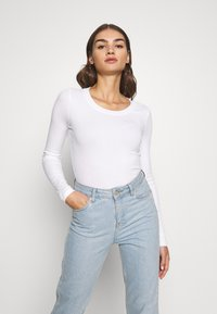 Even&Odd - T-shirt à manches longues - white - 0