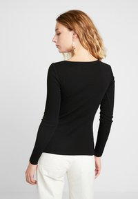 Even&Odd - BASIC - Long sleeved top - black - 2