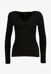 Even&Odd - BASIC - Langarmshirt - black - 3