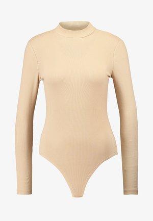 BODYSUIT BASIC - Long sleeved top - tan