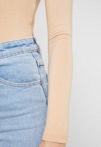 Even&Odd - 2 PACK  - Maglietta a manica lunga - tan/black - 6