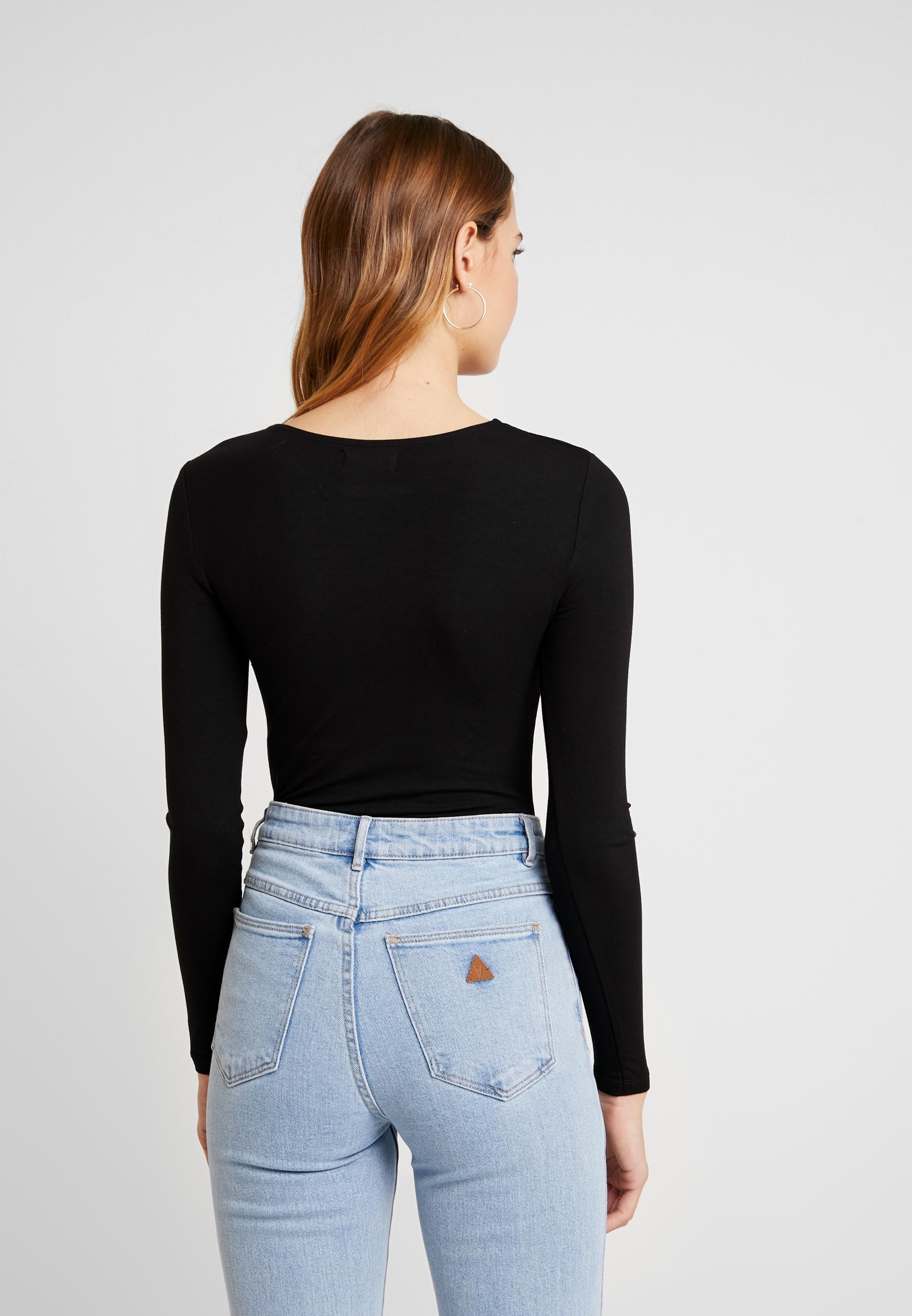 Even&odd 2 Pack - T-shirt À Manches Longues Tan/black