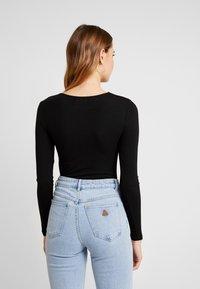 Even&Odd - 2 PACK  - Maglietta a manica lunga - tan/black - 3