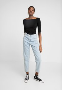 Even&Odd - 2 PACK - Long sleeved top - black - 1