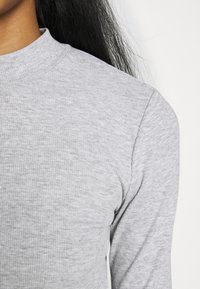 Even&Odd - 2 PACK - Long sleeved top - light grey/black - 6