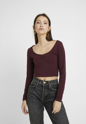 LANGARMSHIRT BASIC - Long sleeved top - winetasting