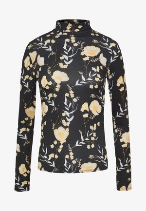 Long sleeved top - yellow/black