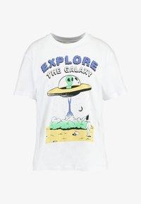 Even&Odd - Camiseta estampada - white - 4