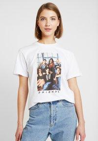 Even&Odd - T-shirt imprimé - white - 0