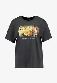 Even&Odd - Print T-shirt - anthracite - 4