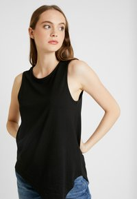 Even&Odd - BASIC T-SHIRT - Top - anthracite - 3