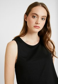 Even&Odd - BASIC T-SHIRT - Top - anthracite - 5