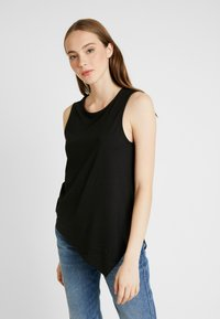 Even&Odd - BASIC T-SHIRT - Top - anthracite - 0