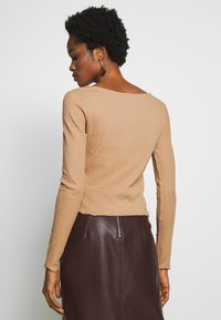 Even&Odd - Long sleeved top - camel - 2
