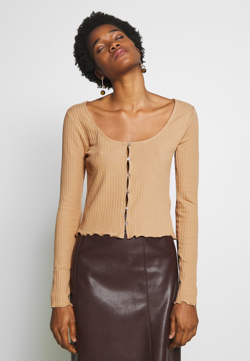 Even&Odd - Long sleeved top - camel