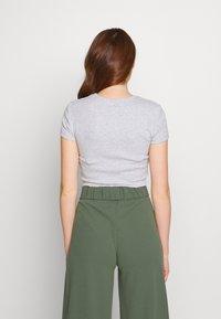 Even&Odd - T-shirts med print - mottled light grey - 2