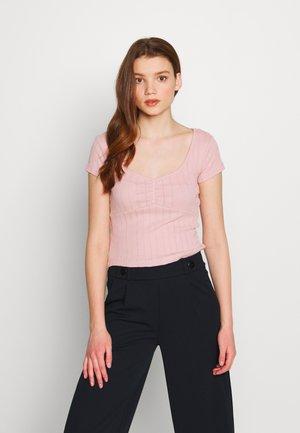 T-shirt basique - pale mauve