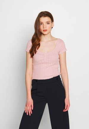 Camiseta básica - pale mauve