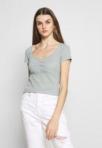 Even&Odd - T-Shirt basic - light green - 0