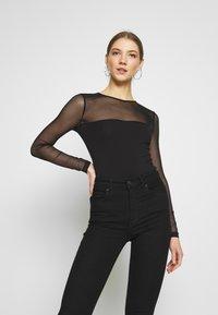 Even&Odd - Long sleeved top - black - 0