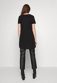 Even&Odd - T-shirt basic - black - 2