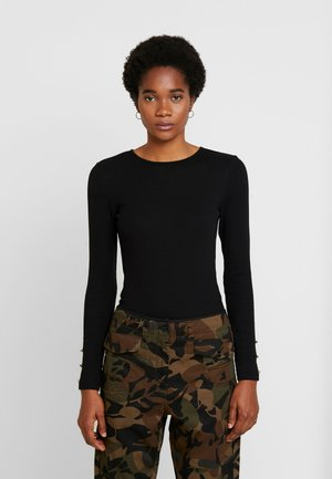 BASIC BODYSUIT - T-shirt à manches longues - black