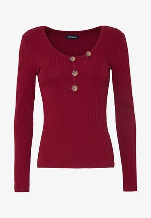 Langærmede T-shirts - biking red