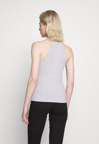 Even&Odd - Top - mottled light grey - 2