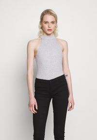 Even&Odd - Top - mottled light grey - 0
