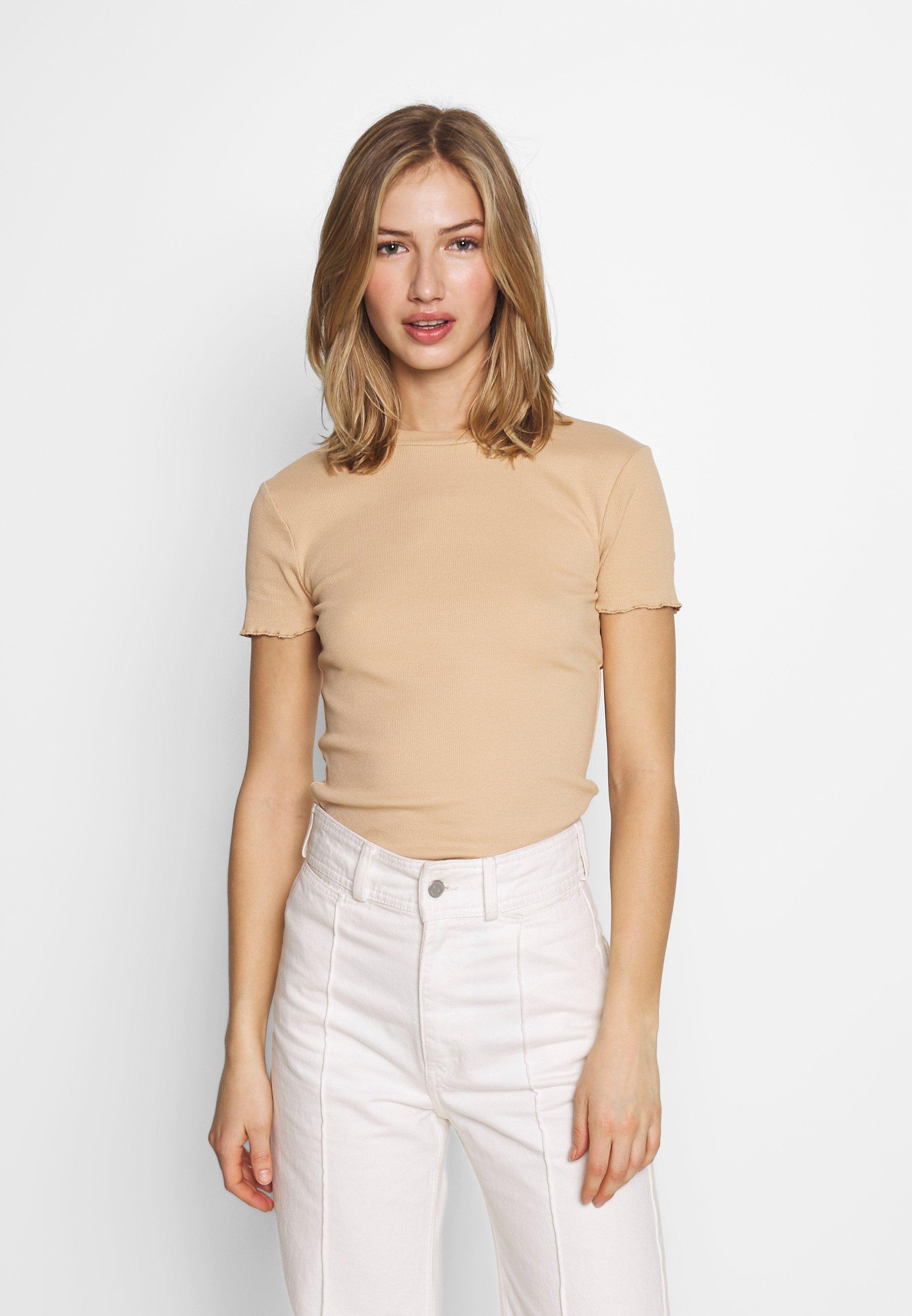 Even&Odd T-shirt basic - cuban sand