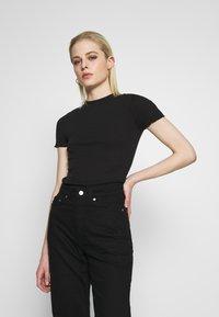 Even&Odd - T-shirt basique - black - 0