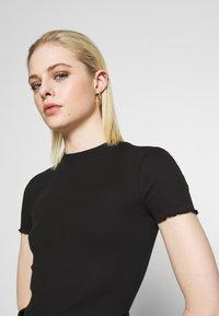 Even&Odd - T-shirt basique - black - 5