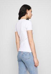 Even&Odd - 2 PACK - T-shirts - mottled grey/white - 2