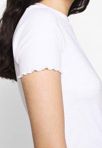 Even&Odd - 2 PACK - T-shirts - mottled grey/white - 5